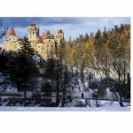 Puzzle  DToys-63052-RM05 Roumanie : Château de Bran