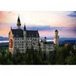 Puzzle  DToys-64301-NL07 Paysages nocturnes - Allemagne : Château de Neuschwanstein