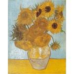 Puzzle  DToys-66916-VG01 Van Gogh Vincent - Les Tournesols