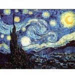 Puzzle  DToys-66916-VG08 Van Gogh Vincent - La nuit étoilée