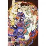 Puzzle  DToys-66923-KL05 Klimt Gustav - La vierge (détail)
