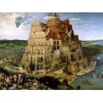 Puzzle  DToys-66947-BR05 Brueghel Pieter l'ancien - La Tour de Babel