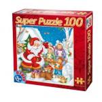 Puzzle  Dtoys-67333-XM-02 Chanson pour le Père Noël