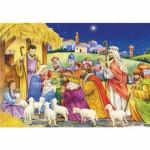 Puzzle  DToys-67371CM04 Collection de Noël - Les Rois Mages / Pièces Mini