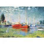 Puzzle  DToys-67548-CM04 Monet Claude - Argenteuil