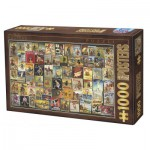 Puzzle  Dtoys-67555-VP11 Collection Vintage - Vélos