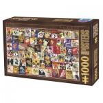Puzzle  Dtoys-67555-VP12 Collection Vintage - Cabaret