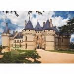 Puzzle  DToys-67562-FC02 Châteaux de France - Château de Chaumont