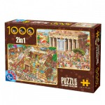 Dtoys-67760-CC-01 2 Puzzles - La Grèce Antique