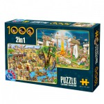 Dtoys-67760-CC-02 2 Puzzles - Dolmen
