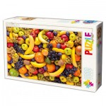 Dtoys-71958-HD01 Puzzle Difficile : Fruits