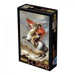 Puzzle  Dtoys-72719-DA-01 David Jacques-Louis : Napoléon Bonaparte franchissant les Alpes