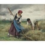 Puzzle  Dtoys-72788-DU-01 Julien Dupré: La Recolte des Foins