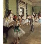 Puzzle  Dtoys-72801-DE-02 Degas Edgar : La Classe de Danse