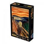 Puzzle  Dtoys-72832-MU-01 Munch Edvard : Le Cri