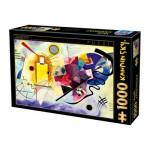 Puzzle  Dtoys-72849-KA-03 Kandinsky Vassily : Jaune, Rouge, Bleu