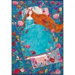 Puzzle  Dtoys-72870-KA-04 Andrea Kürti: Sleeping Beauty