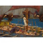 Puzzle  Dtoys-72917-WA-01 Waterhouse John William : Ulysse et les Sirènes, 1891