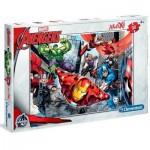 Puzzle  Clementoni-07420 Pièces XXL - Avengers