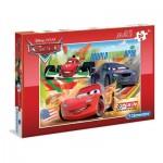 Puzzle  Clementoni-07426 Pièces XXL - Cars
