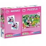 Puzzle  Clementoni-07903 Mickey + Memo