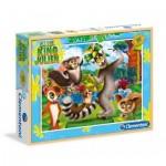 Puzzle  Clementoni-08510 King Julien