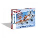 Clementoni-20111 Window-Puzzle Planes