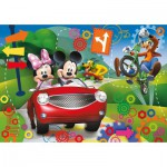 Puzzle  Clementoni-20605 Mickey Club House
