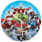 Clementoni-23023 Puzzle Horloge Avengers