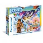 Puzzle  Clementoni-23977 Pièces XXL - Ice Age