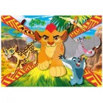 Puzzle  Clementoni-23978 Pièces XXL - The Lion Guard