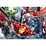Puzzle  Clementoni-24036 Pièces XXL - Avengers