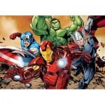 Puzzle  Clementoni-24037 Pièces XXL - Avengers