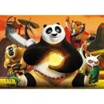 Puzzle  Clementoni-24042 Pièces XXL - Kung Fu Panda 3
