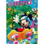 Clementoni-25185 3 Puzzles - Mickey et ses amis