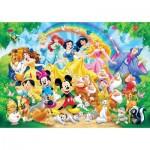 Puzzle  Clementoni-26408 Pièces XXL - Disney