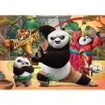 Puzzle  Clementoni-26580 Pièces XXL - Kung Fu Panda 3