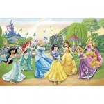 Puzzle  Clementoni-26737 Pièces XXL - Les princesses Disney et les papillons