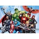 Puzzle  Clementoni-26750 Pièces XXL - Marvel Avengers