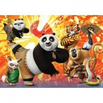 Puzzle  Clementoni-27959 DreamWorks - Kung Fu Panda 3