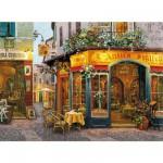 Puzzle  Clementoni-30104 Victor Shvaiko : Restaurant L'Antico Sigillo