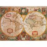 Puzzle  Clementoni-31229 Ancienne carte