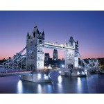 Puzzle  Clementoni-33527 Royaume-Uni, Londres : Tower Bridge