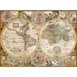 Puzzle  Clementoni-33531 Carte Antique