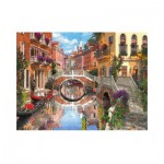 Puzzle  Clementoni-33541 Venise