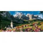 Puzzle  Clementoni-38007 Massif du Sella, Dolomites