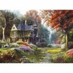 Puzzle  Clementoni-39172 Jardin victorien