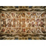 Puzzle  Clementoni-39225 Vue sur la voûte de la Chapelle Sixtine