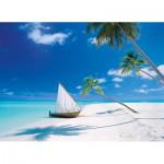Puzzle  Clementoni-39256 Îles Maldives