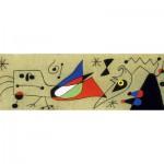 Puzzle  Clementoni-39264 Joan Miro - Femme et Oiseau dans la Nuit